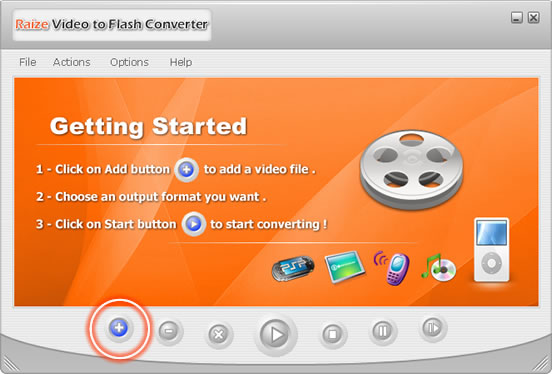 Falsh Video Converter